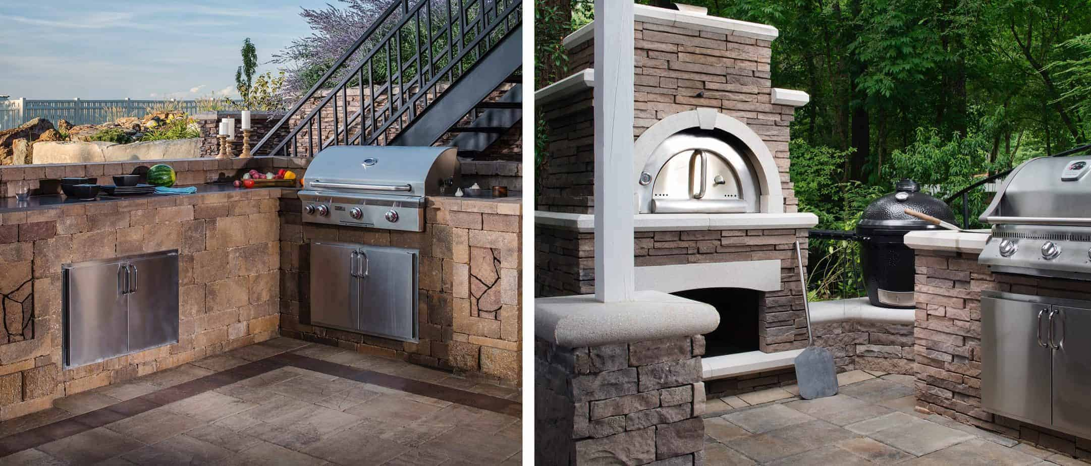 How to design a custom outdoor kitchen.